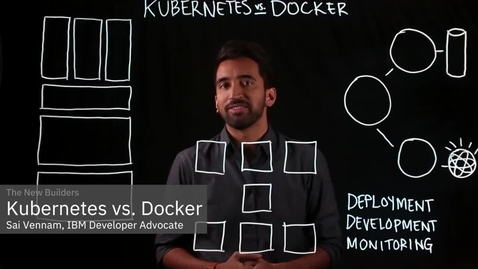Thumbnail for entry Kubernetes vs. Docker: It's not an either or question