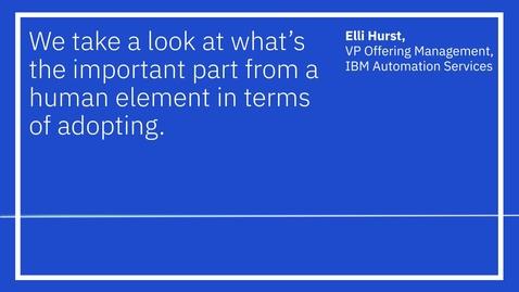 Thumbnail for entry Think 2020: Elli Hurst [Audiogram] 2