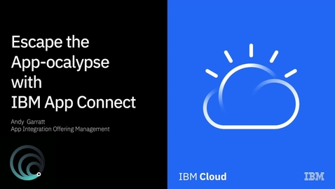 Thumbnail for entry Escape the App-pocalypse with IBM App Connect