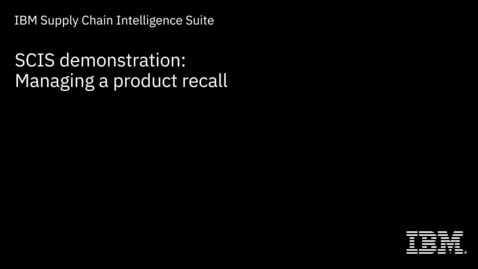 Thumbnail for entry IBM Blockchain Transparent Supply Demo