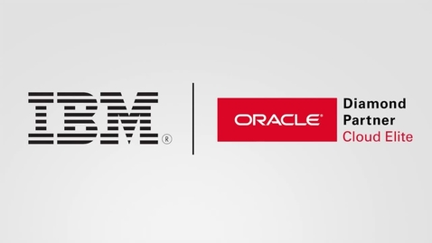 Thumbnail for entry Toshiba works with IBM Services to enhance their competitve edge & enable growth
