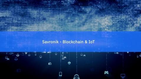 Thumbnail for entry Savronik Elektronik: Changing the future of training systems with IBM Blockchain