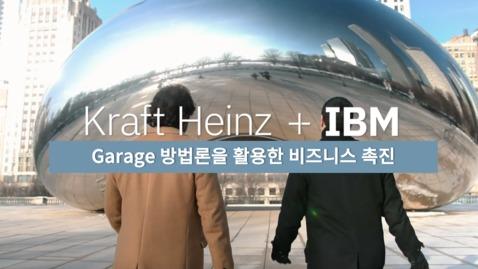Thumbnail for entry 运用IBM Garage方法论助力Kraft Heinz商业增长