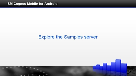 Thumbnail for entry Explore the samples server
