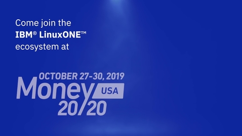 Thumbnail for entry Money 2020 Promo Temenos Media Center