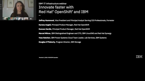 Thumbnail for entry Innovate Faster with Red Hat OpenShift and IBM