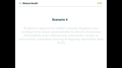 Thumbnail for entry IBM Cúram Social Program Management V7.0.2 evidence broker: Seamless sharing of logically equivalent evidence