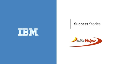 Thumbnail for entry Road cargo company, Della Volpe turbocharges capabilities with IBM and SAP
