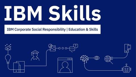 Thumbnail for entry IBM Skills Presents: La reconnaissance faciale