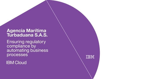 Thumbnail for entry Turbaduana automates compliance with IBM Process Transformation software