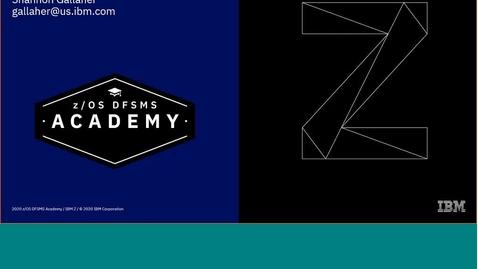 Thumbnail for entry z/OS DFSMShsm Basics