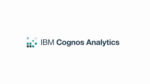 Thumbnail for entry Run with interactivity in Cognos Analytics