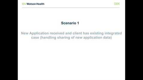 Thumbnail for entry IBM Cúram Social Program Management V7.0.2 evidence broker: Sharing new application data