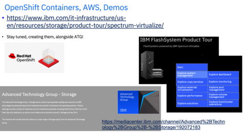 Thumbnail for entry FlashSystem Replication to Amazon Web Services (AWS) using OpenShift Container Platform (OCP)