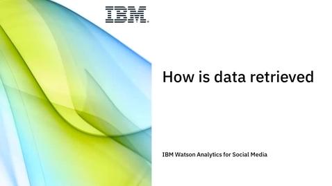 Thumbnail for entry How is data retrieved