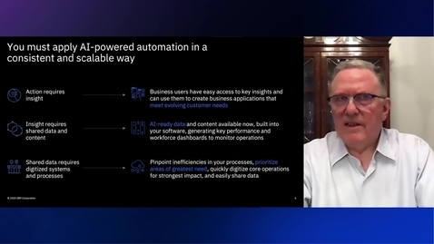 Thumbnail for entry Why IBM Cloud Pak for Business Automation?