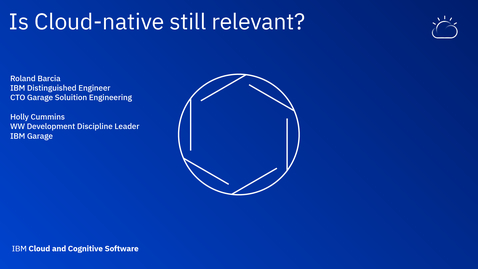Thumbnail for entry Is Cloud-native still relevant? - Thought Leaders Webinar Series