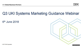 Thumbnail for entry Q3 Systems Guidance Webinar - 6th June 2018