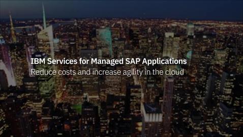 Thumbnail for entry IBM Services para Aplicaciones SAP Gestionadas - LA - CO-ES