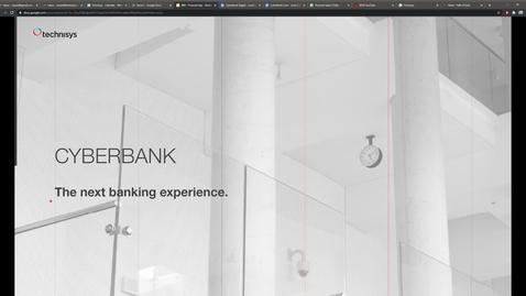 Thumbnail for entry Technisys & Cyberbank: plataforma de banca digital