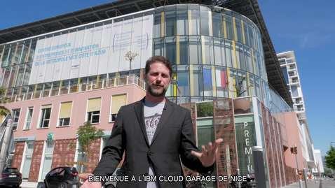 Thumbnail for entry Visite de l'IBM Garage de Nice