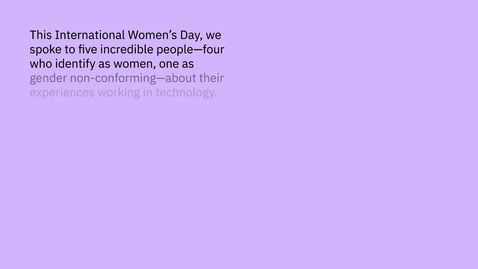 Thumbnail for entry Women's Day 2021