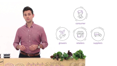 Thumbnail for entry Blockchain 101 by IBM Food Trust - Part 3: The Food Chain