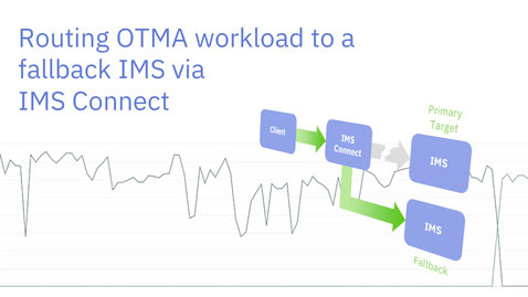 Thumbnail for entry Routing OTMA workload to a fallback IMS with IMS Connect
