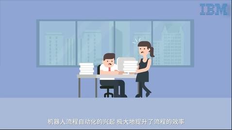 Thumbnail for entry IBM 认知流程自动化解决方案
