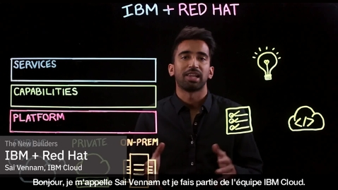 Thumbnail for entry IBM   Red Hat - French
