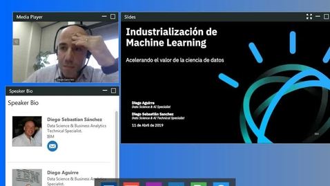 Thumbnail for entry Industrialización de Machine Learning