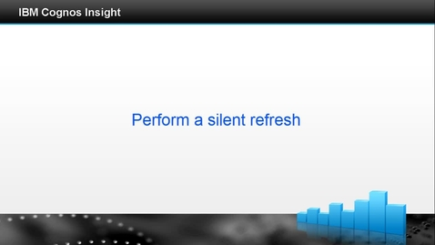 Thumbnail for entry Perform a silent refresh