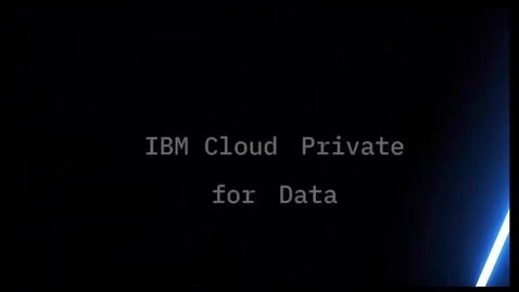 Thumbnail for entry ICP4D Intro to Data Virtualization