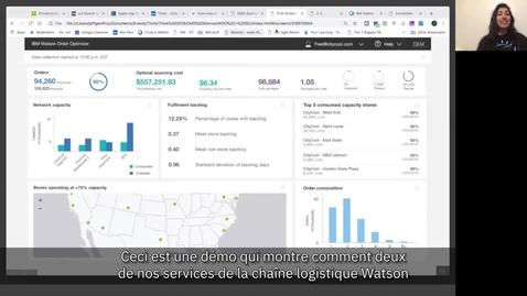 Thumbnail for entry IBM sur le salon NRF 2019 : Exécution optimisée