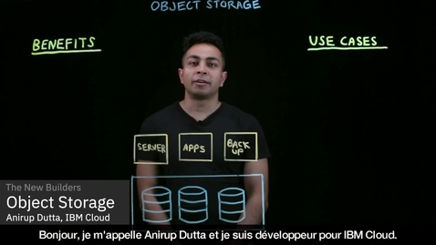 Thumbnail for entry What is Object Storage - French