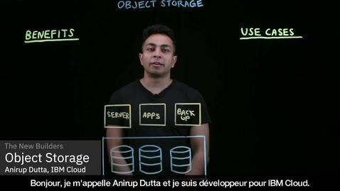 Thumbnail for entry Qu'est-ce que le stockage d'objets ?