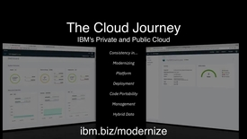 Thumbnail for entry A Consistent Cloud Journey with IBM Private and Public Cloud