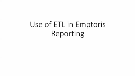 Thumbnail for entry 1C Overview of DataStage ETL and Cognos for Emptoris Reporting C.mp4