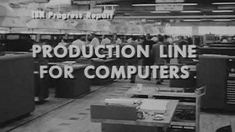 Thumbnail for entry (77-007) IBM Progress Report III (1956)