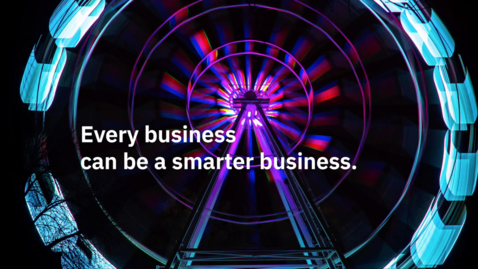 Thumbnail for entry Building a smarter business with IBM hybrid cloud software