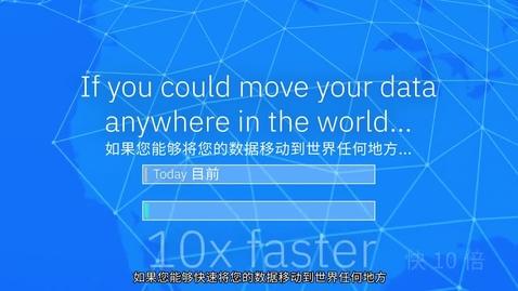 Thumbnail for entry IBM Aspera 概述 - 以最快的速度移动世界上的数据