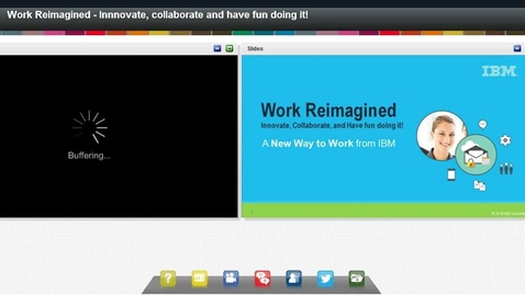 Thumbnail for entry Work Reimagined - Innovate, Collaborate and have fun doing it!