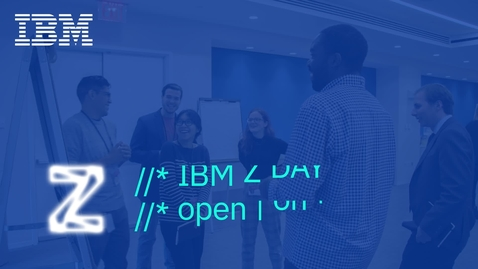 Thumbnail for entry Demo: IBM Watson Machine Learning for z/OS overview and demo