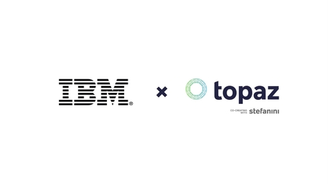 Thumbnail for entry Topaz & IBM Cloud