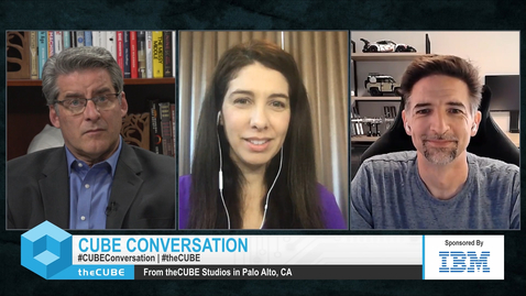 Thumbnail for entry theCUBE Cloud Satellite Conversation with Briana Frank and Jason McGee