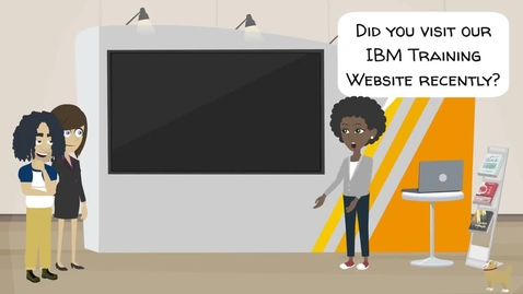 Thumbnail for entry IBM Training website - renewed