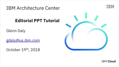 Thumbnail for entry Editable Powerpoint tutorial