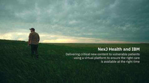 Thumbnail for entry NexJ Health & IBM: Descubra la asociación en el sector de la salud