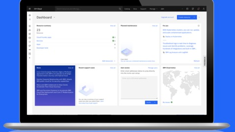 Thumbnail for entry Taking Your IBM Cloud Dashboard Experience to the Next Level with Custom Dashboards