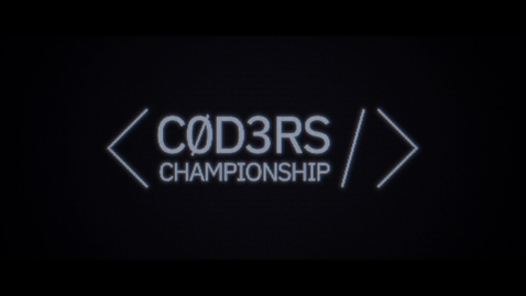 Thumbnail for entry Trailer do C0D3RS Championship